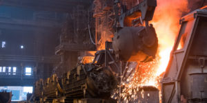 metal/steel plant