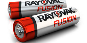 fusion alkaline batteries by rayovac