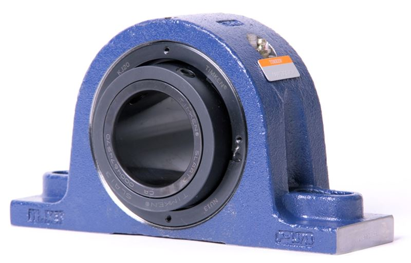 steel housed bearings by Timken, also known as the Blue Brute