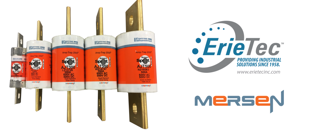 Fuses Class J by Mersen, stocked and distributed by ErieTec Inc.