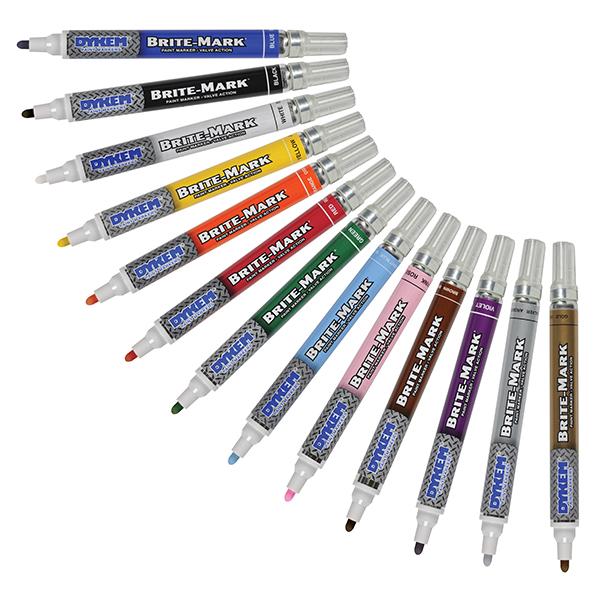 dykem brite-mark marking pens